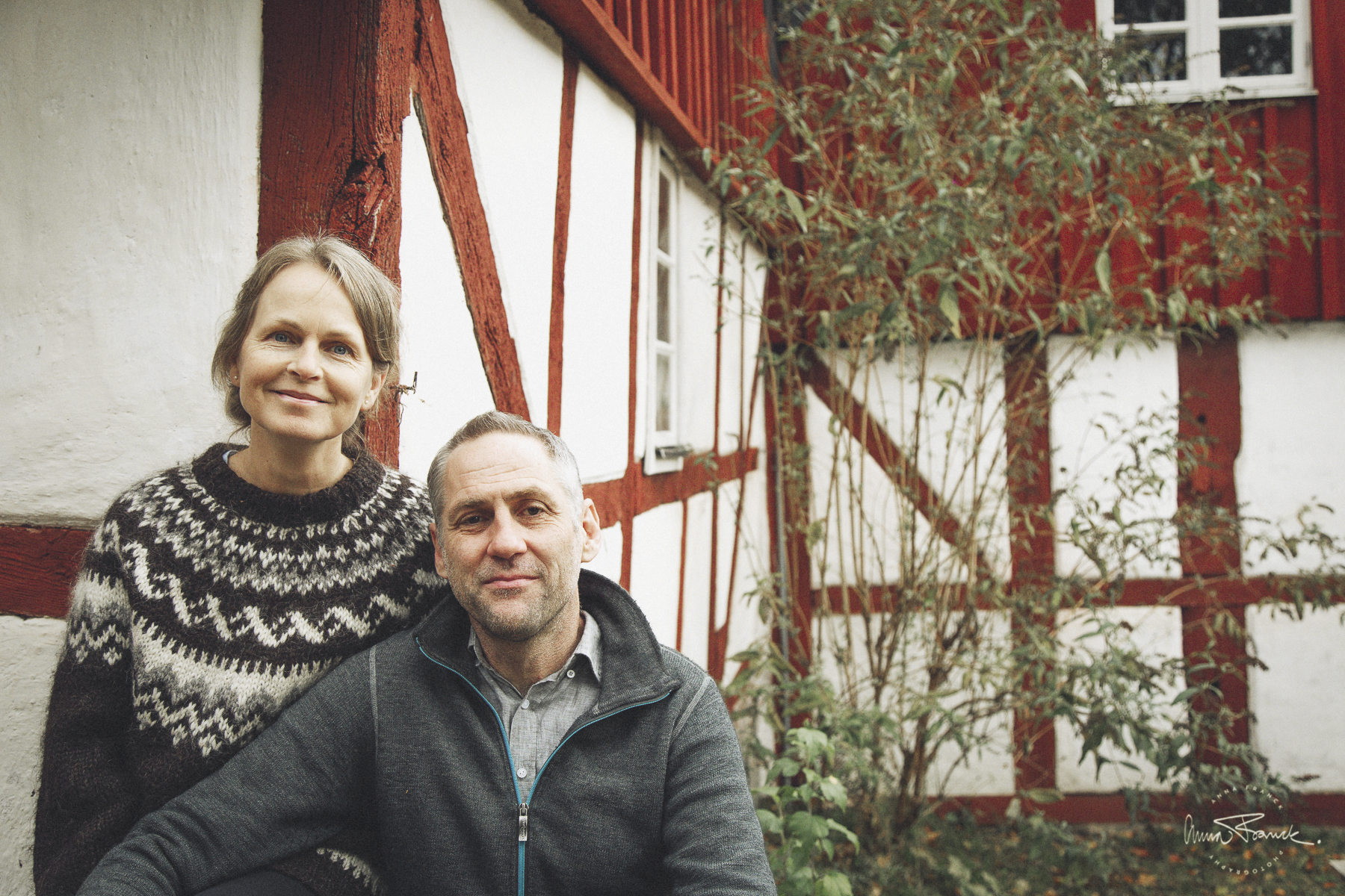 Porträttfotografering på vandrarhemmet STF Skeppargården