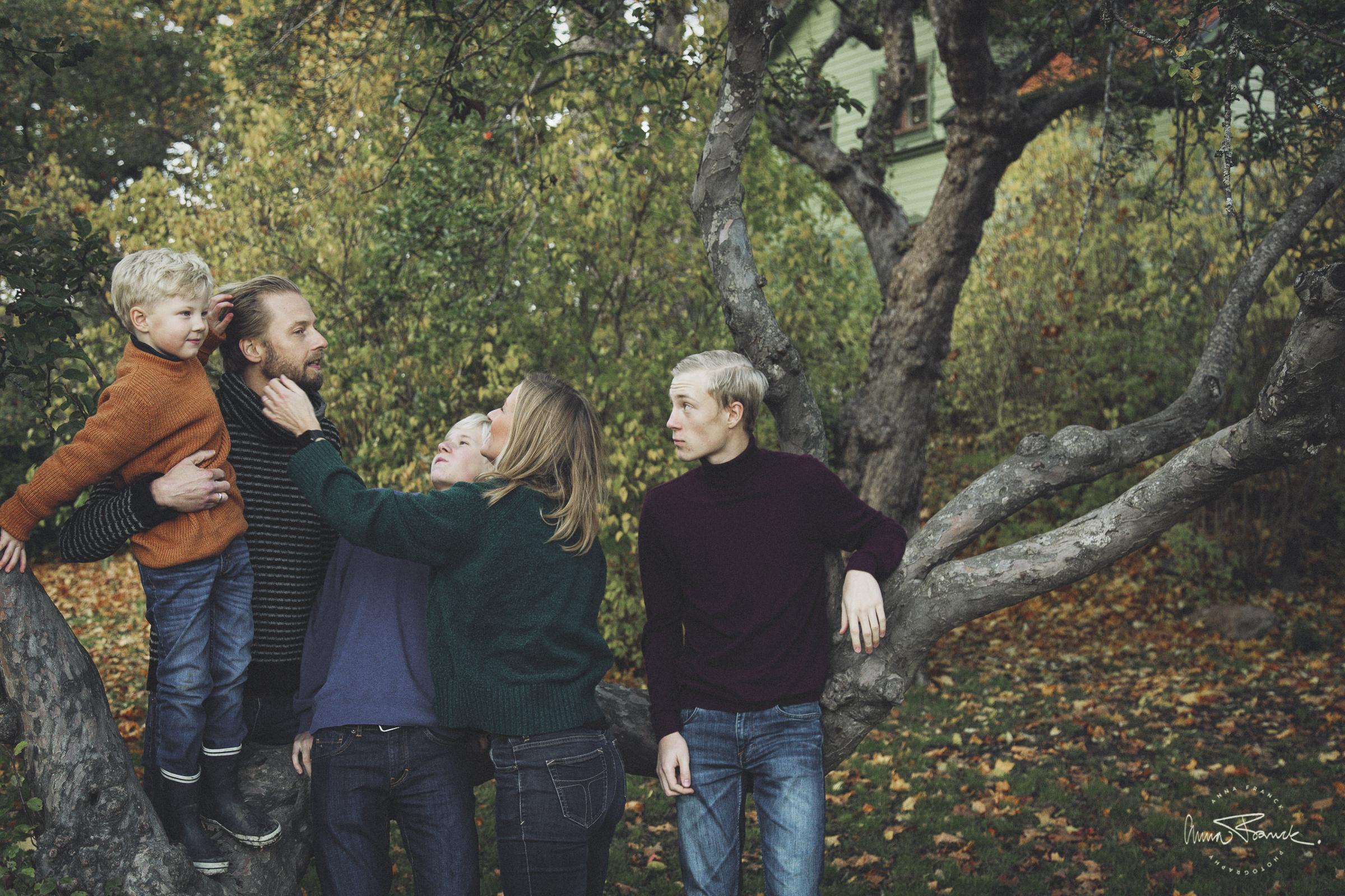 familjefotografering i Långbro, Långsjön, Stockholm