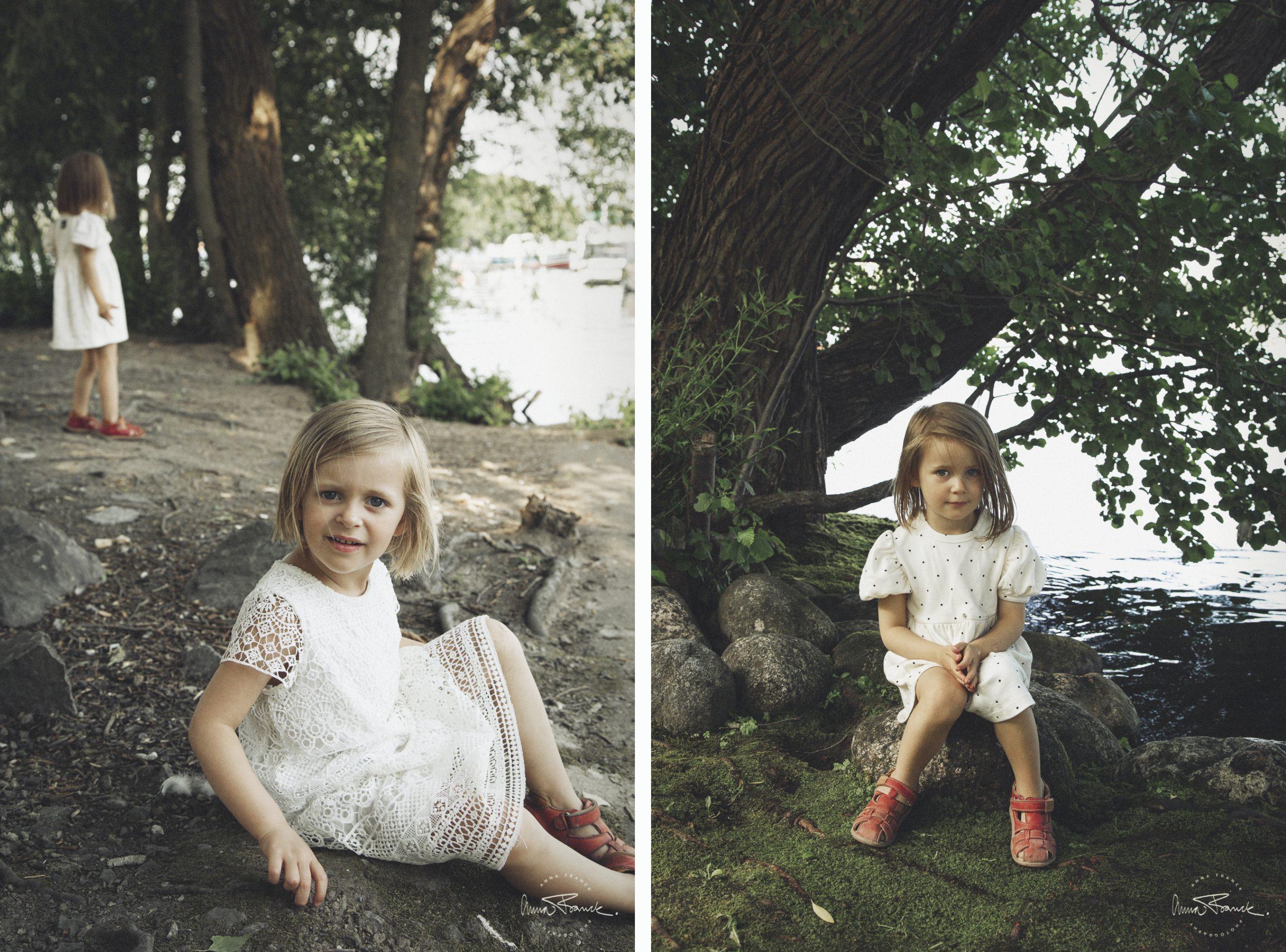 busig familjefotografering i Vinterviken, Stockholm