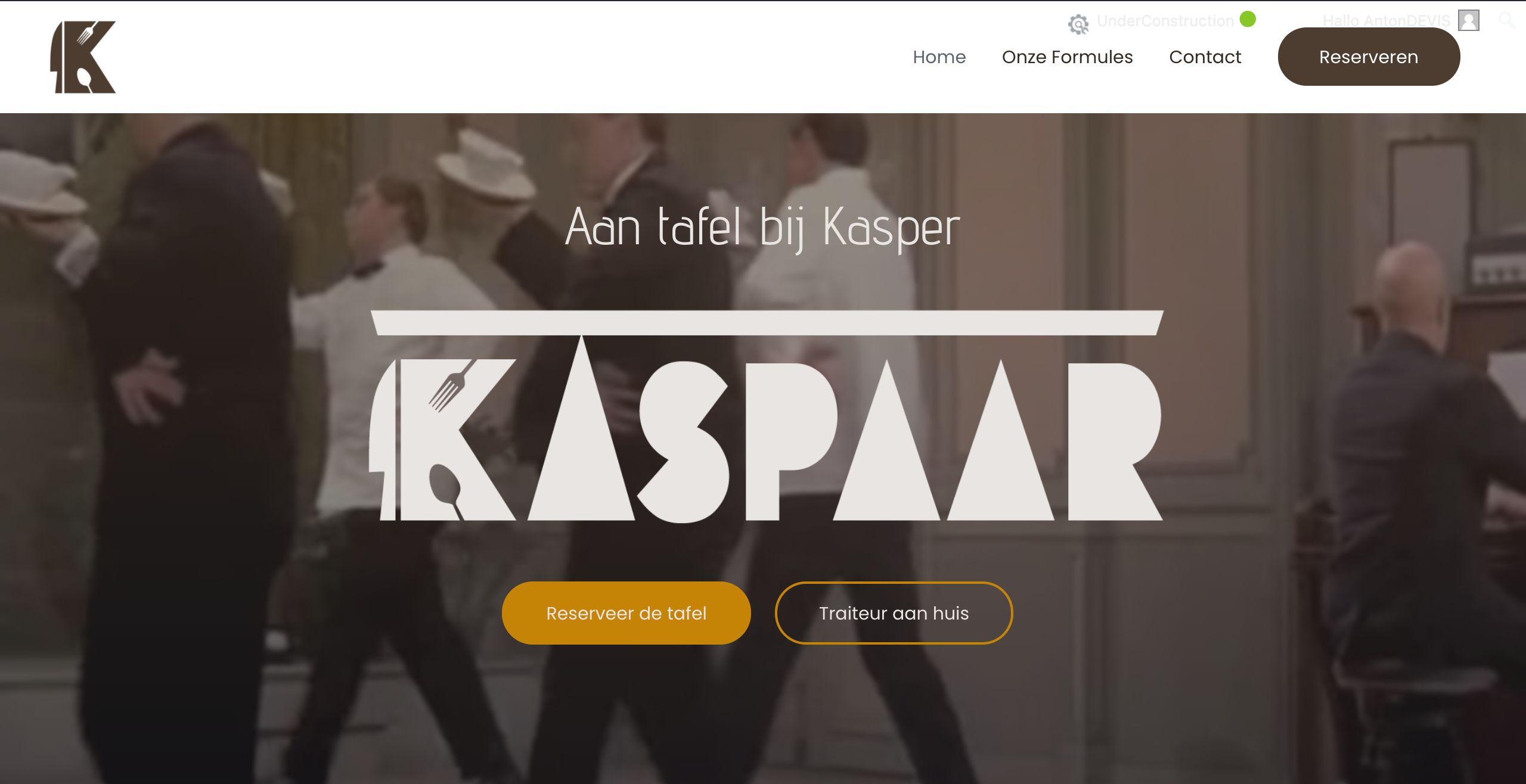 Kaspaar – Traiteur