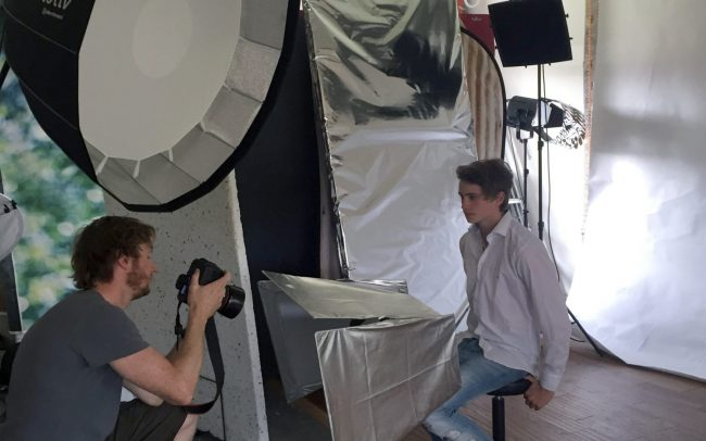 great day with photographer Michael Wharley at London