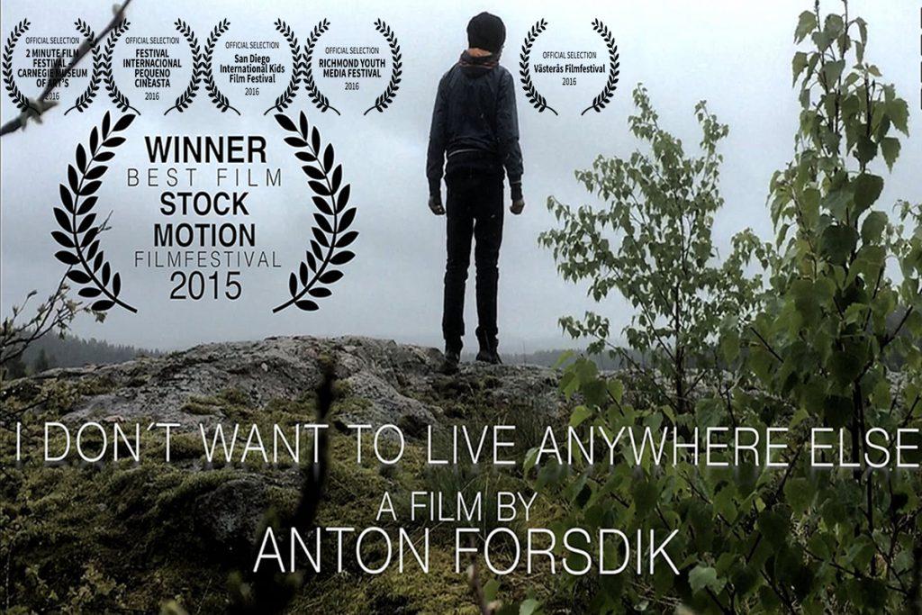 Stockmotion filmfestival winner,Anton Forsdik