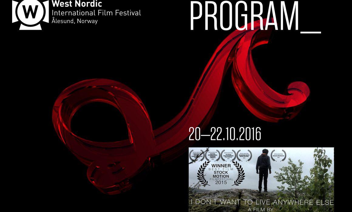west nordic film festival , Anton Forsdik