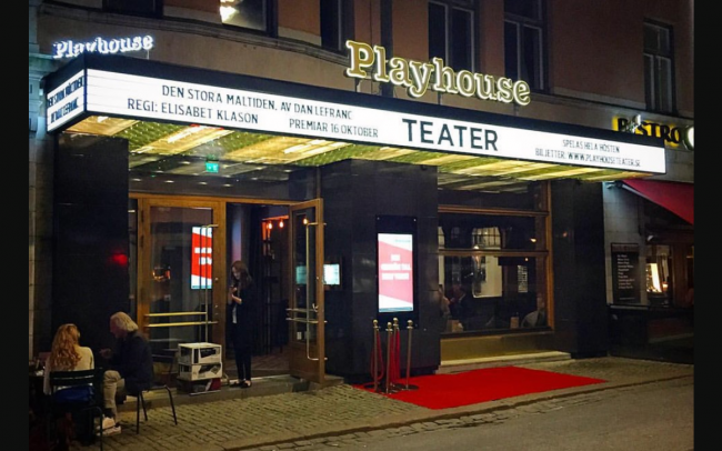 Anton Forsdik - Playhouse teater