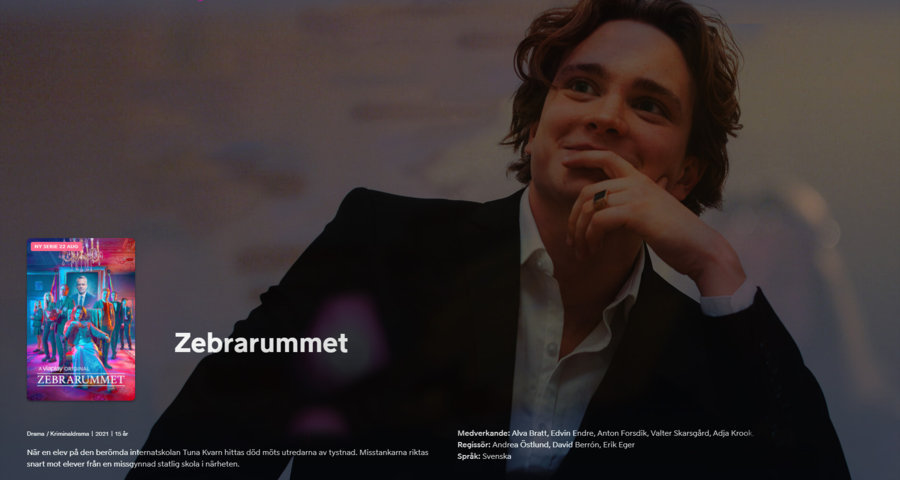 Zebrarummet ,22 augusti,TV-serie,Anton Forsdik
