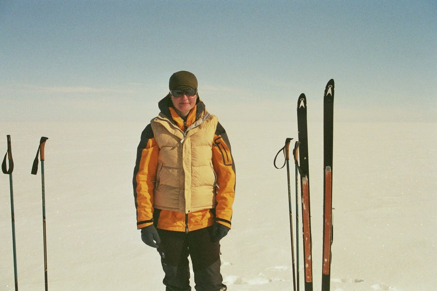 Cristine Silke Hansen on icecap expedition - Greenland