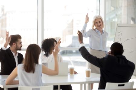 Team development coaching session