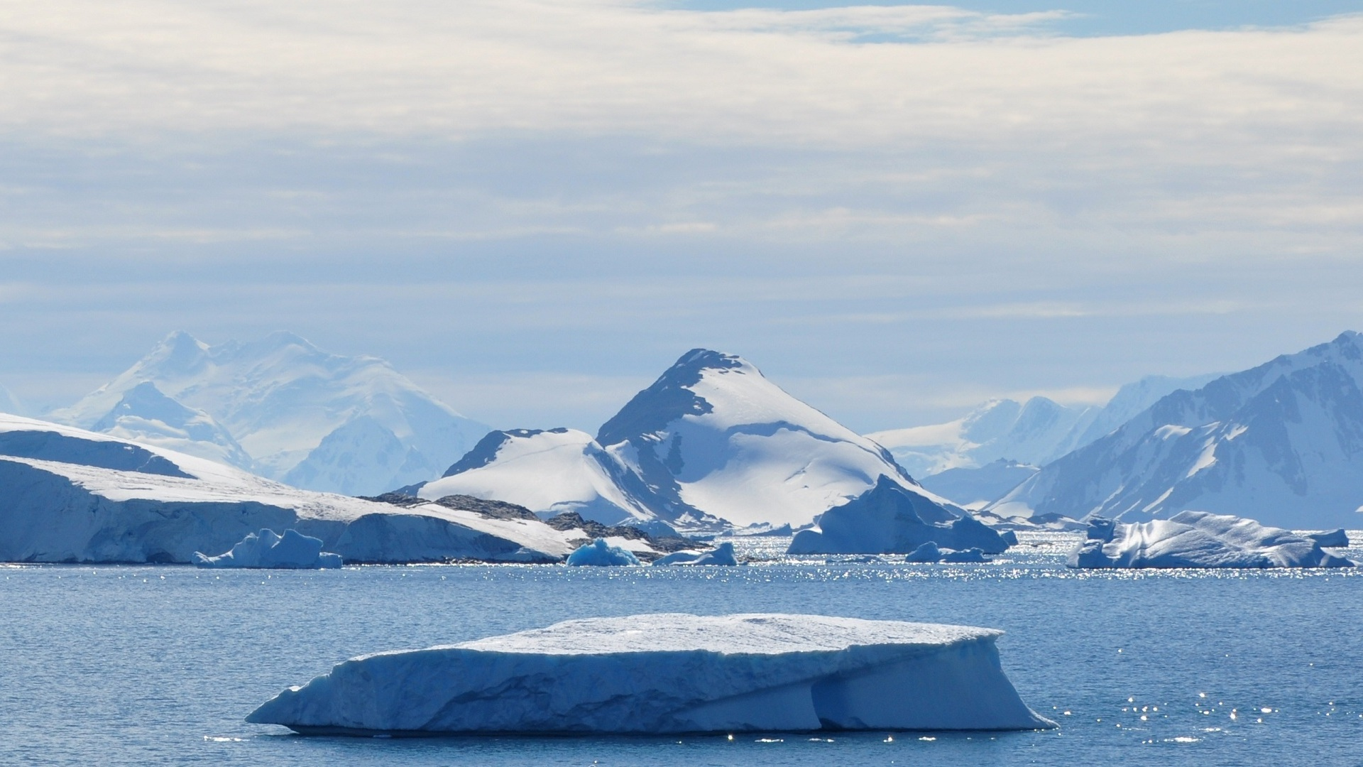 I Ghiacci dell'Antartide