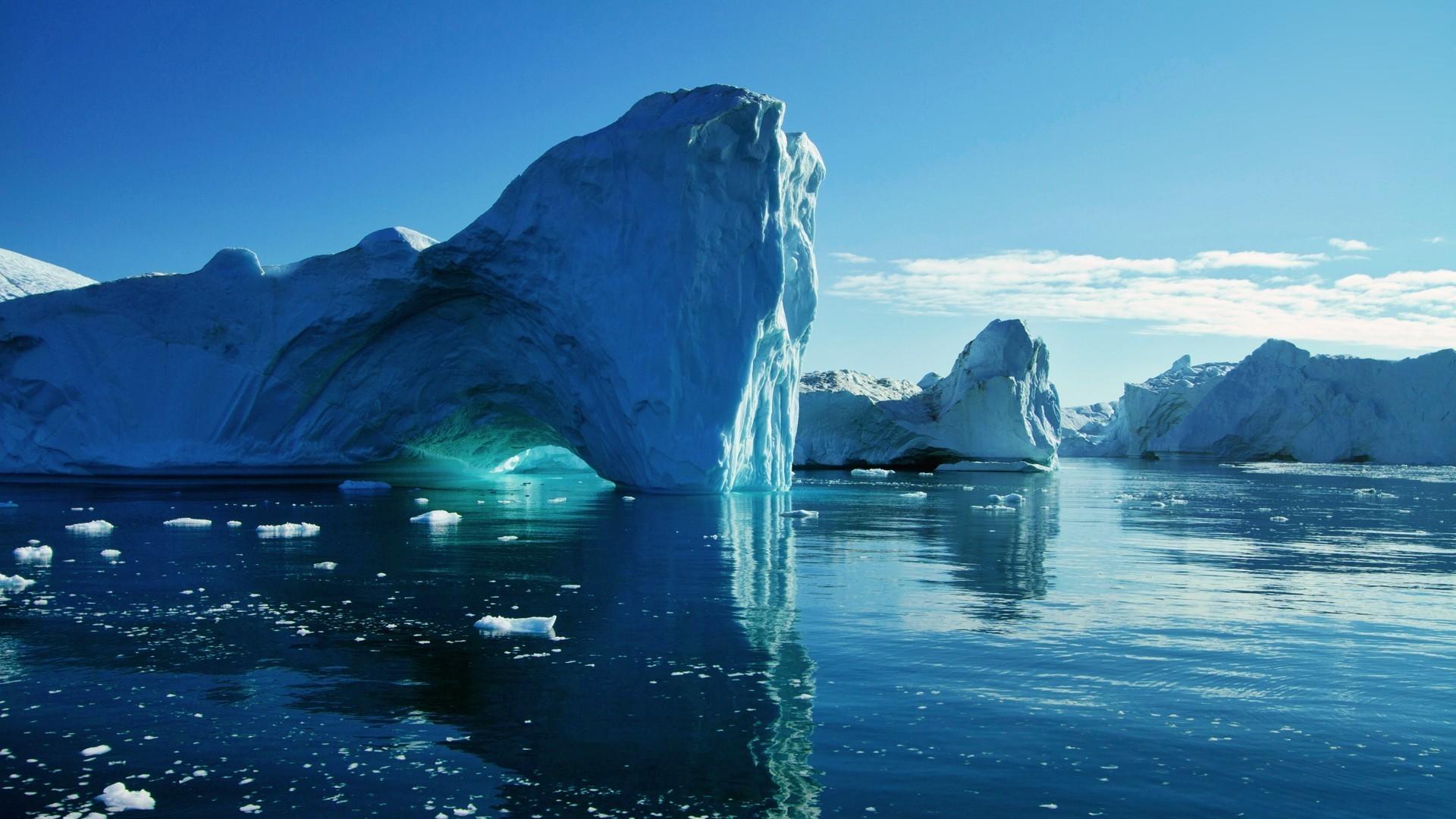 Mappa Geografica del Continente Antartico