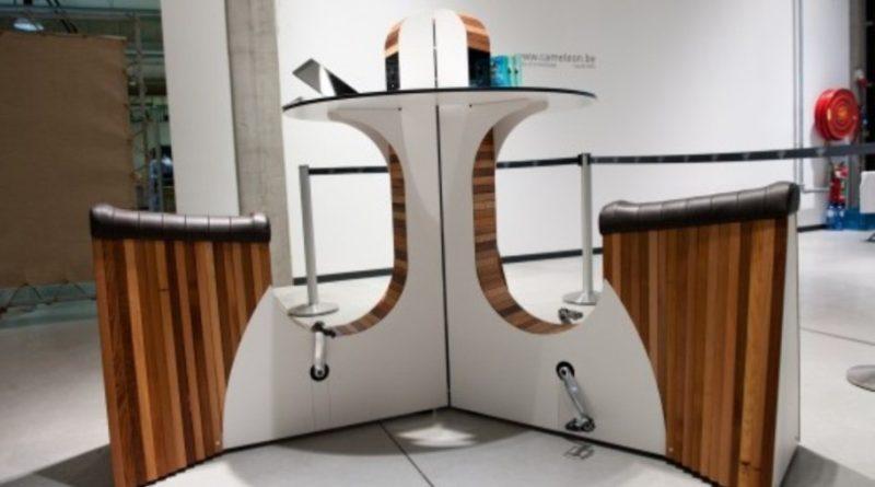 Il Webike, il tavolo per produrre energia elettrica