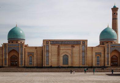 Mappa Geografica dell'Uzbekistan