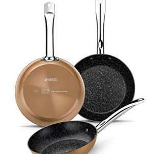 Monix Copper - Set de 3 sartenes