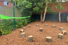 School playground landscaping in Stoke on Trent