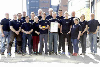 Aquarden Technologies receives EU-award