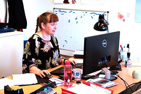 Office Manager Anja Langsø