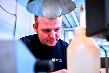 Technician Kevin Møllebro Pedersen