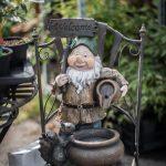 trädgårdstomte välkommenskylt
