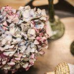 bordsdekoration torkad hortensia