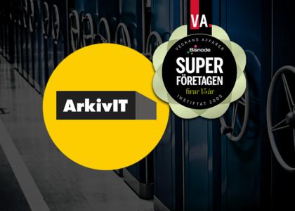 ArkivIT Superföretag 2019