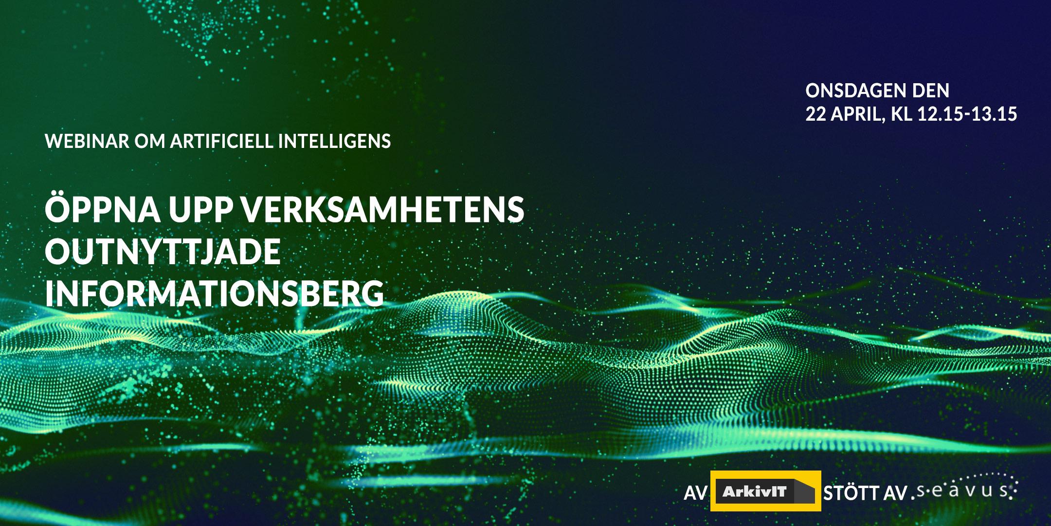 Webinar om Artificiell Intelligens