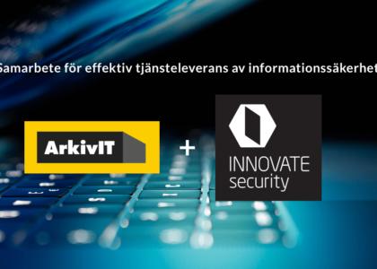 Samarbete mellan ArkivIT och INNOVATE security