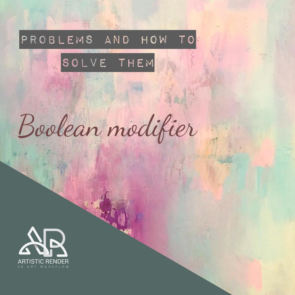 boolean modifier feature image