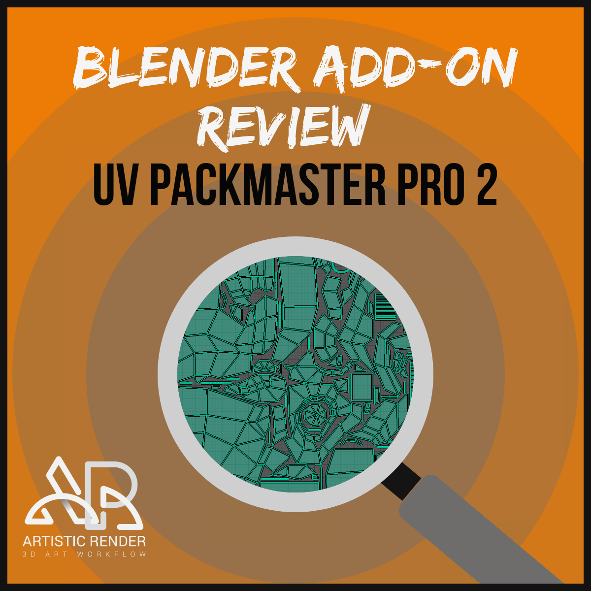 blender addon review about uv packmaster pro 2, feature image