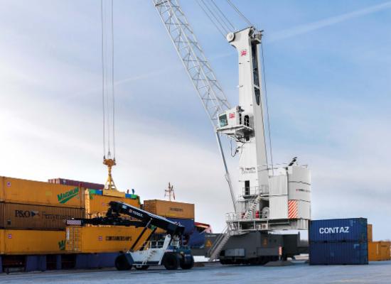 Mobile Harbor Cranes