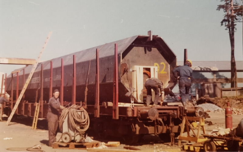 AS BULL Delivery of a Dybler in the early 70's