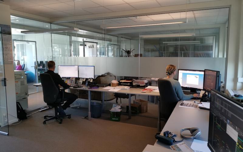AS BULL Office at Sandvika, 2020
