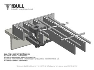 AS BULL Fixing Material Type 1 Complete