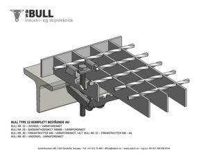 AS BULL Fixing Material Type 12 Complete