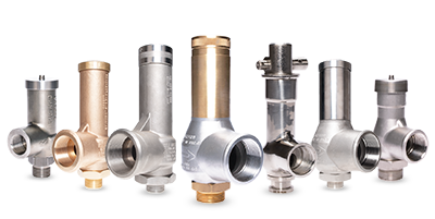 Enclosed Discharge Safety Relief Valves