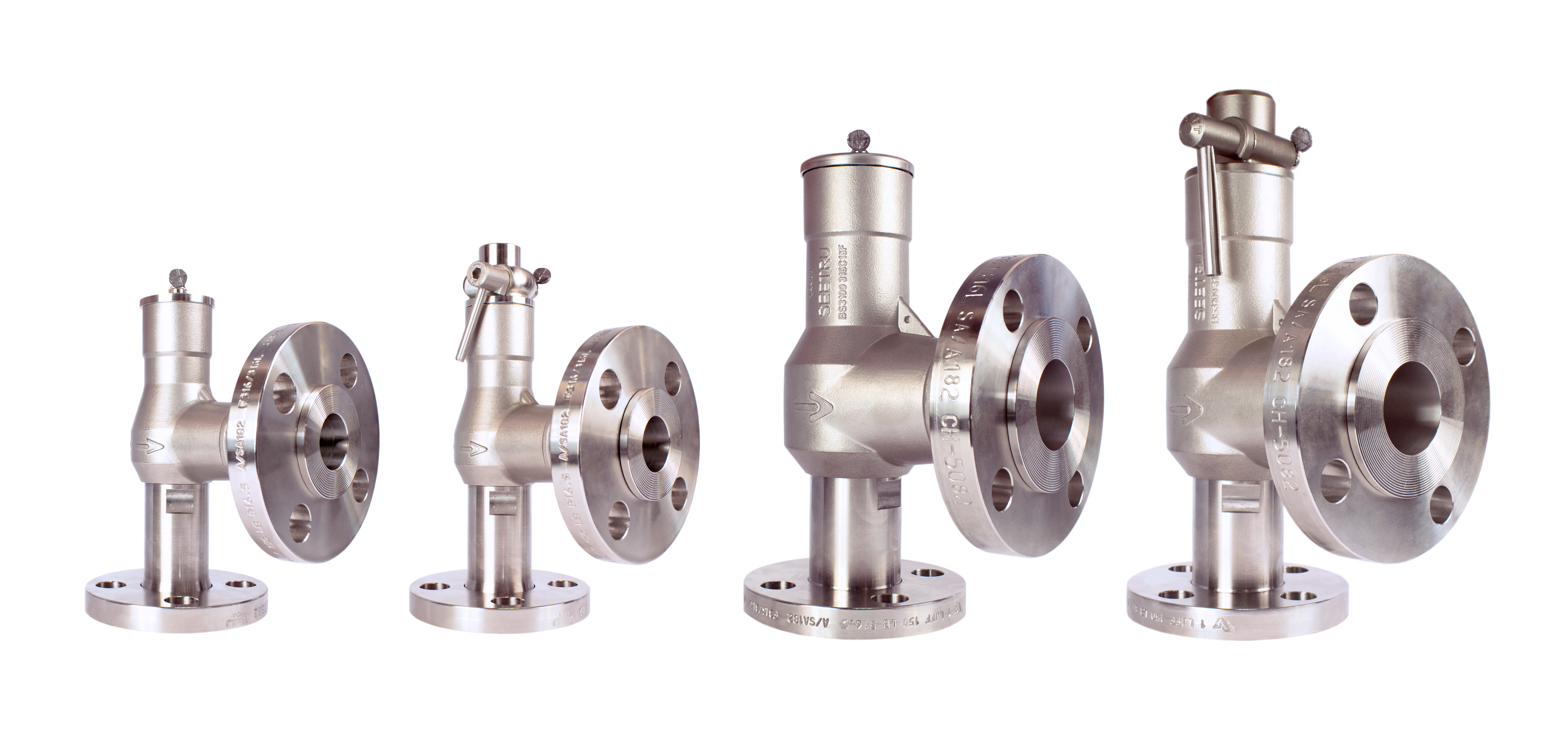 Flanged Stainless Steel Safety Relief Valves