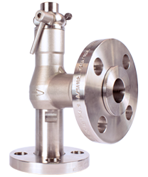 Flanged Stainless Steel valve 10mm