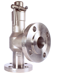 Flanged Stainless Steel valve 15mm