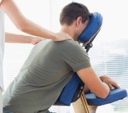 Sittende massasje