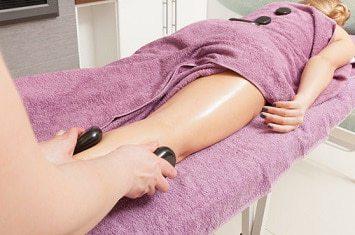 Hotstone med dyp massasje