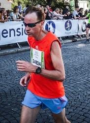 Massør Steinar løper maraton
