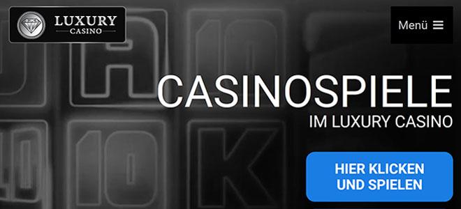 Spiele auf Luxury Casino