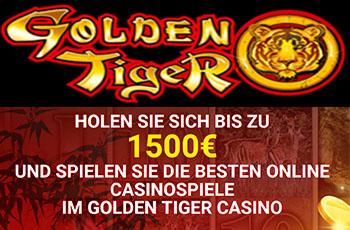 Golden Tiger bietet die größten Gratisbonusse mit Einzahlung