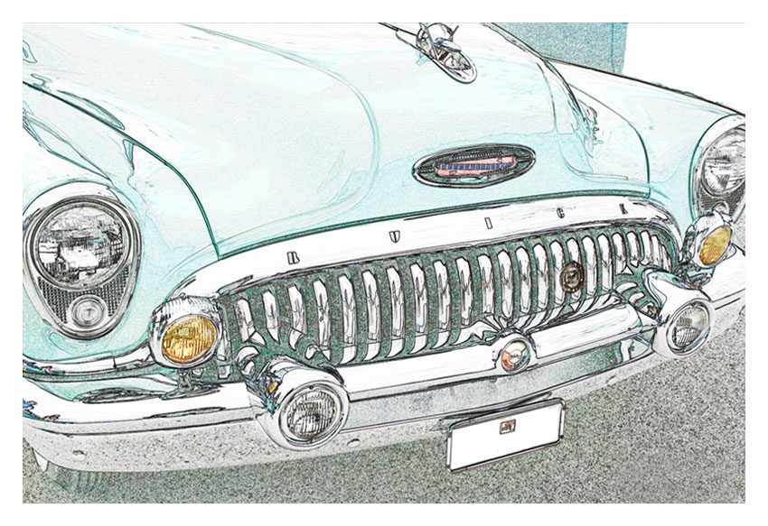 Buick Grin