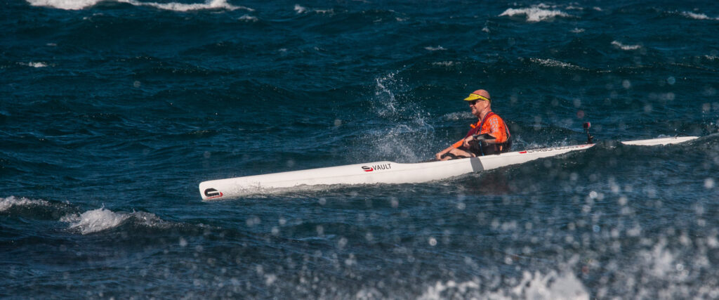 Millers Run surfski