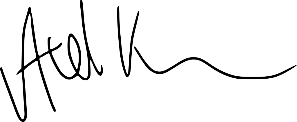 Axel Krottler's signature