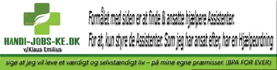 Bpa-Leder axp.handi-jobs-ke.dk af Klaus Emilius bruger den til at søge folk til at hjælpe i hjemmet med §94 og uden for hjemmet med §97