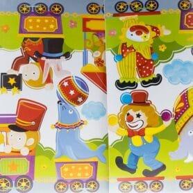 Cirkus stickers