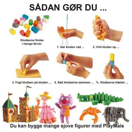 PlayMais - Sådan gør man - Guide til PlayMais