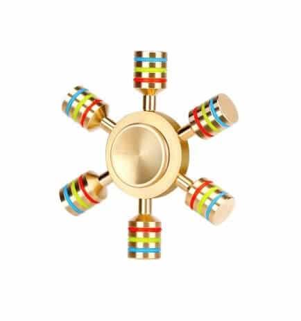 Fidget Spinner luxus - 6 arme