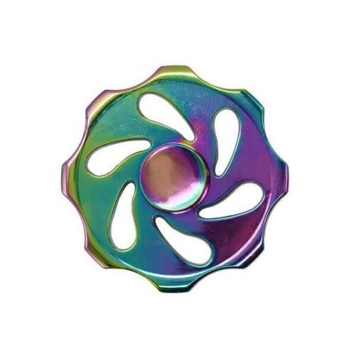 Rund Fidget spinner - Rainbow Metal fidget spinner