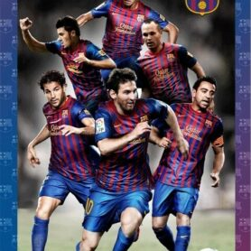 FC Barcelona 3D Plakat